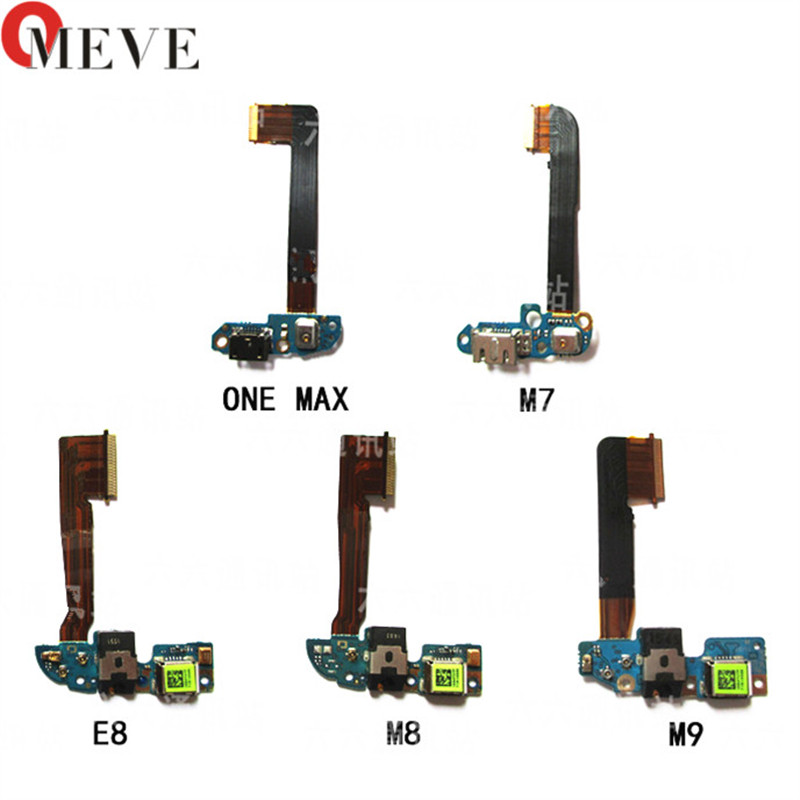USB Micro Dock Charge Charger Charging Port Connector Microphone Board Flex For HTC One M7 M8 E8 9 M9 M9 Plus M9 +