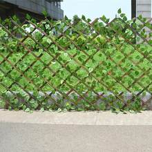 Artificial Garden Plant Fence UV Protected Privacy Screen Outdoor Indoor Use Backyard Home Decor Greenery Walls Garden Fence(China)
