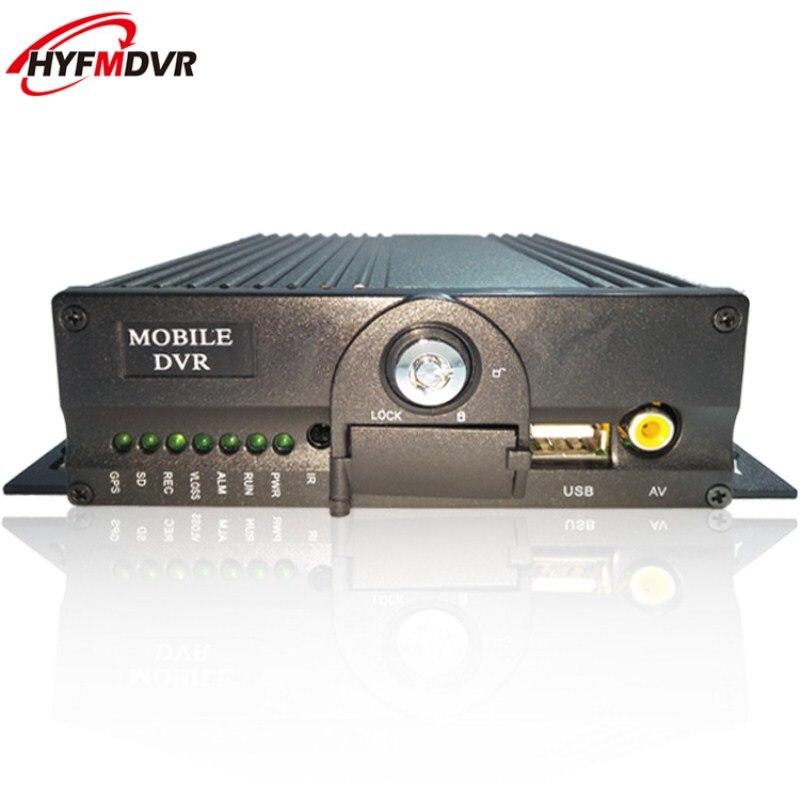 Support vidéo de surveillance ntsc/pal de stockage de carte SD double personnalisé 4CH mdvr pour plusieurs langues