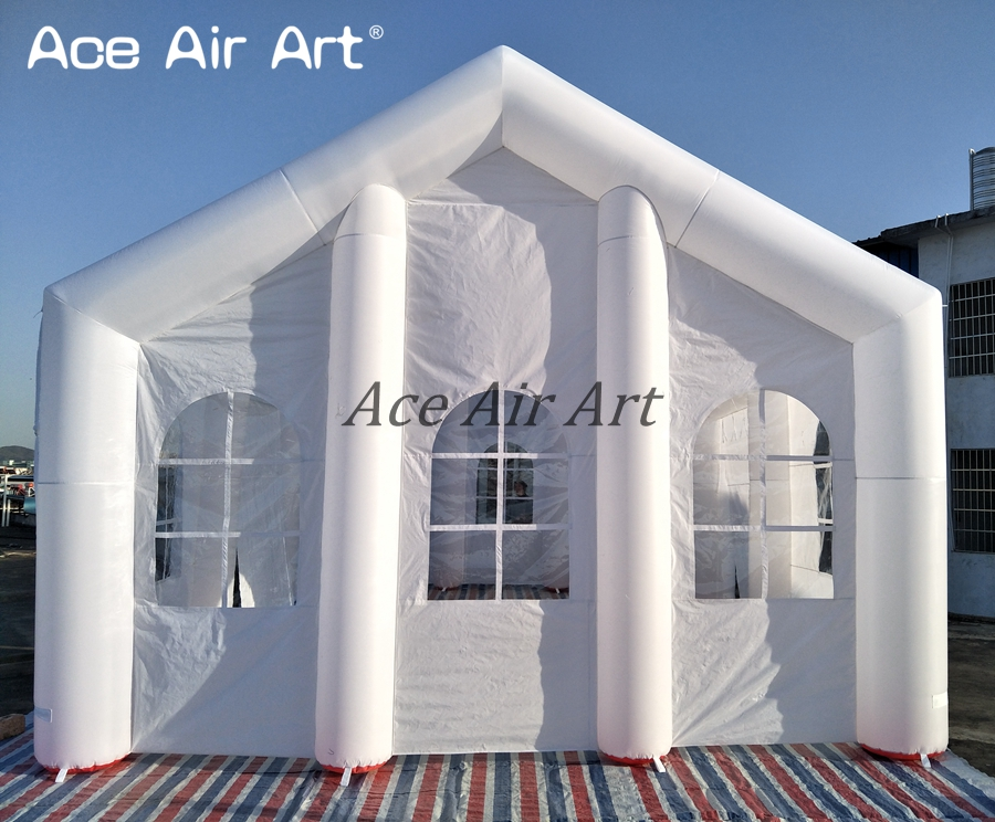 cheaper popular white big Inflatable wedding house/inflatable wedding tent made in China