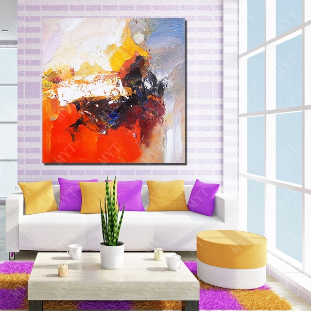Wall Design Abstract Oil Painting On Canvas Living Room Decor Sale High