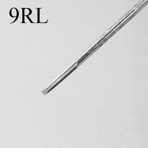 Image 5 - 50 pçs sortidas esterilizadas agulhas de tatuagem misturadas 1rl 3rl 5rl 7rl 9rl forro redondo para tatuagem máquina arma aperto ponta frete grátis