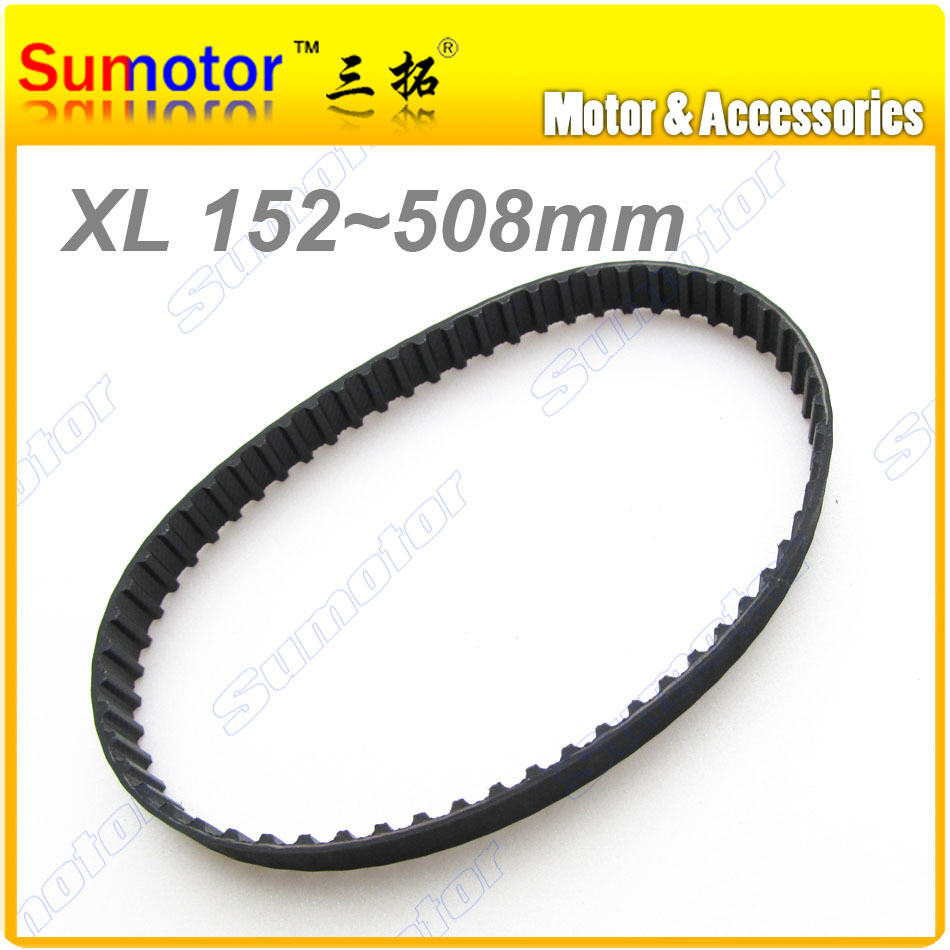 XL Length 6 7 8 9 10 11 12 13 14 15 16 Width 10mm Pitch 0.2 inch rubber closed Timing belt for CNC 3D printer x axis 9 meters 16 9 xl 9000 timing megadyne belt for gongzheng wit color inkjet printers
