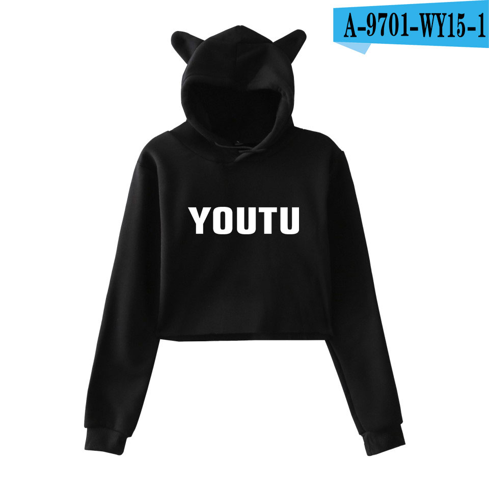 SHAWN MENDES Printed Cat Ear Hoodies Women Long Sleeve Fashion Hooded Sweatshirts 2018 Hot Sale Casual Girls Sexy Hoodies