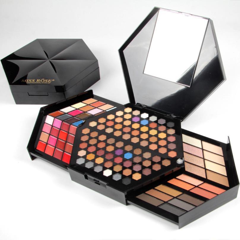 ISHOWTIENDA Profissional Fashion 80Colors Eyeshadow Palette Luxury Golden Matte Nude Eye Shadow Palette Makeup artist dedicated цена