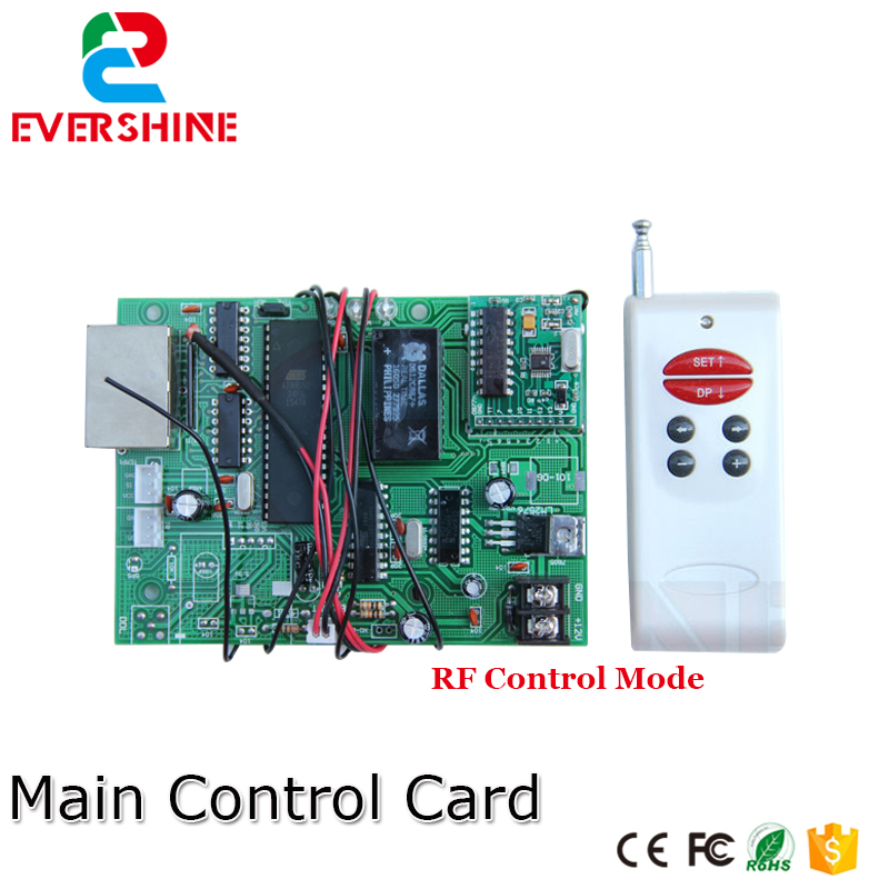 LED Digital Number RF Control Main Control Card 12V Gas/Oil Price LED Sign Use For All Size Led Digital Number For Gas Station