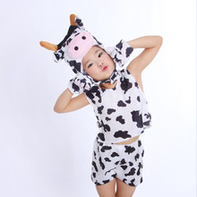 Animals Cosplay Tiger Dinosaur Leopard Cow Cat Sheep Zebra Panda Chicken Pig Wolf Children Kid Party Performent Onesie Jumpsuit