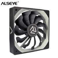 ALSEYE S-120 PC Fan 120mm Hohe Luftstrom Kühler 12V 3pin Lüfter für PC Fall, CPU Kühler, Wasser Kühlung