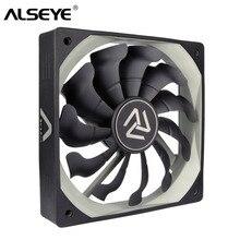 ALSEYE S-120 вентилятор для ПК 120 мм охладитель с высоким воздушным потоком 12 В 3pin вентиляторы охлаждения для ПК корпус, кулер для процессора, водяное охлаждение