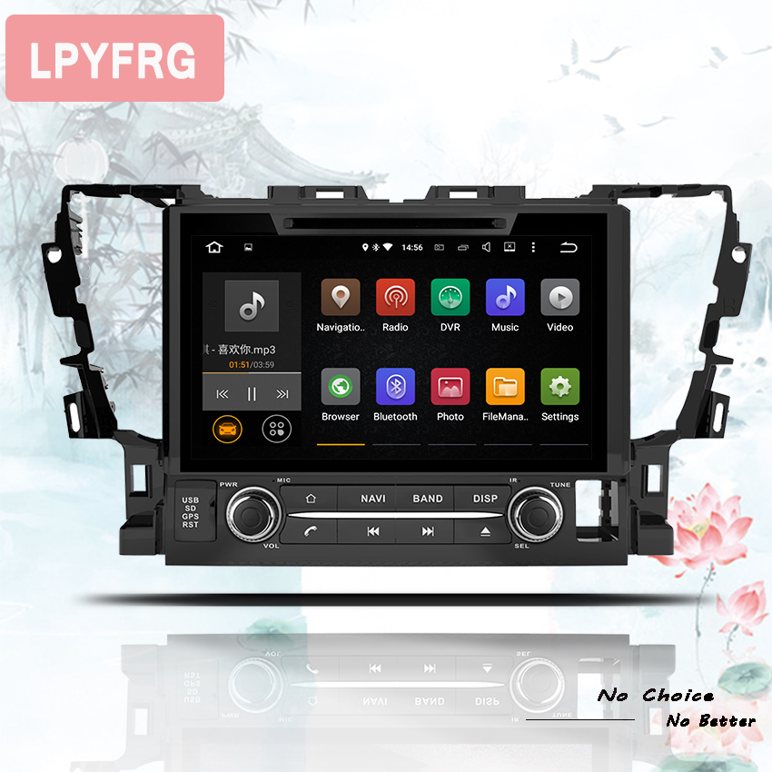 9 IPS screen Android 9 0 Car DVD Player For Toyota Alphard Vellfire 2015 2018 with