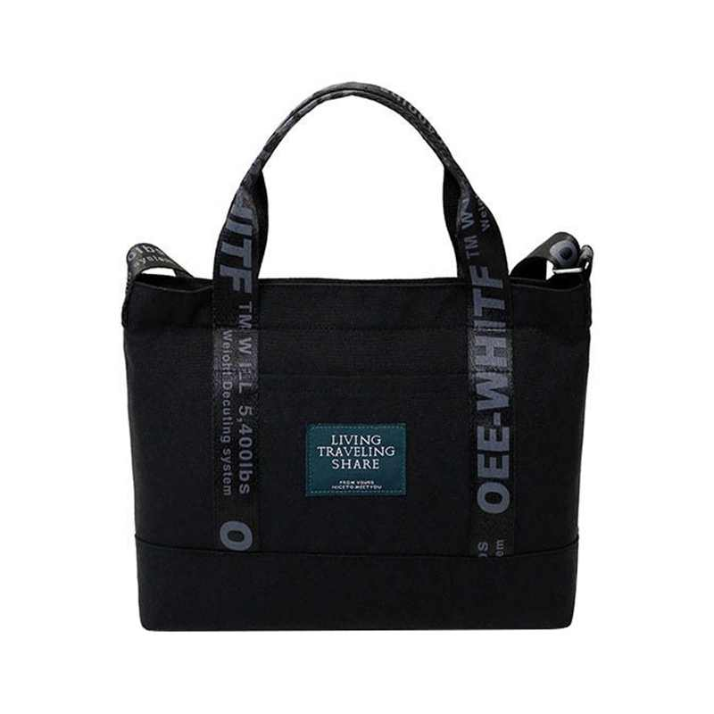 0df4841c5404 Brand Large Pocket Women's Handbag New Fashion Canvas Tote Shoulder Bags  Harajuku Letter Print Large Capacity Bags For Women