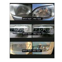 Car Headlight Glass Refurbishment Tool Kit Hydrophobic Coating Scratch Repair EU Plug
