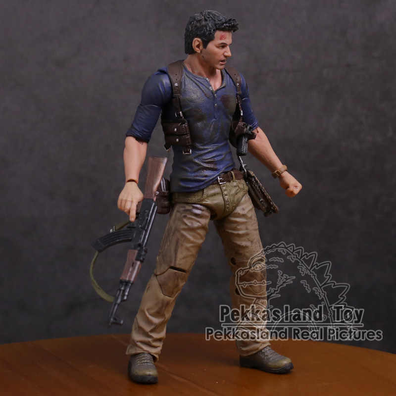 Neca Uncharted 4 A Thief S End Nathan Drake Ultimate Edition Pvc Action Figure Collectible Model Toy 18cm