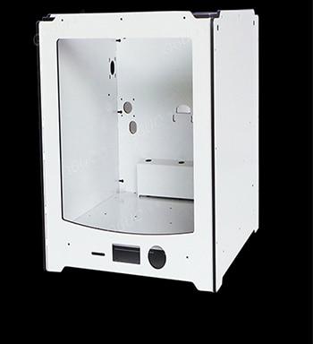 Ultimaker 2 Расширенный + 3d кожух из алюминиевого сплава композитный корпус и акриловый боковой комплект с толщиной 6 мм