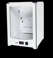 Ultimaker 2 Extended+ 3D Printer frame aluminum alloy composite shell and Acrylic side kit with 6mm thickness