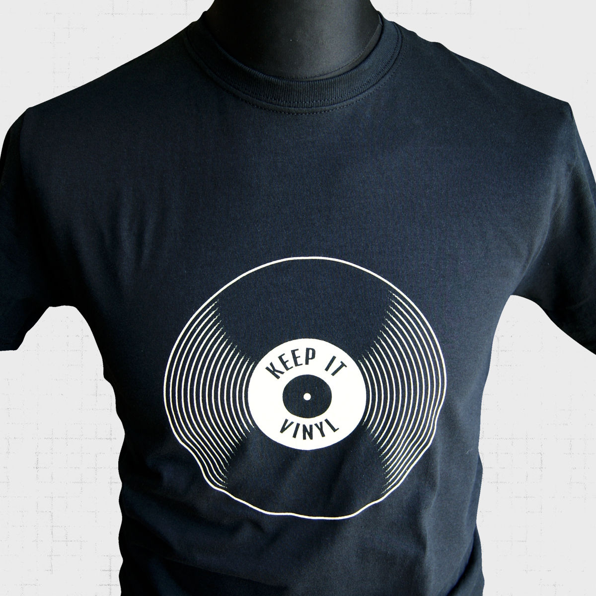 Keep it Vinyl Retro T Shirt Vintage Music 33 45 78 RPM Records Albums Classic New Shirts Funny Tops Tee Unisex