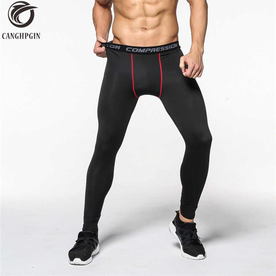 Mens Basketball Fitness Tights Jogging Pants Men Running Elastic Compression Pants Sweatpants Bodybuilding Gym Sports Trousers