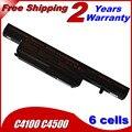 JIGU 4400mAh battery for Clevo C4100 C4500 C4500Q C5100Q C5500Q C4500BAT-6 C4500BAT 6 C4500BAT6 B4100M B4105 B5100M B5130M B7110