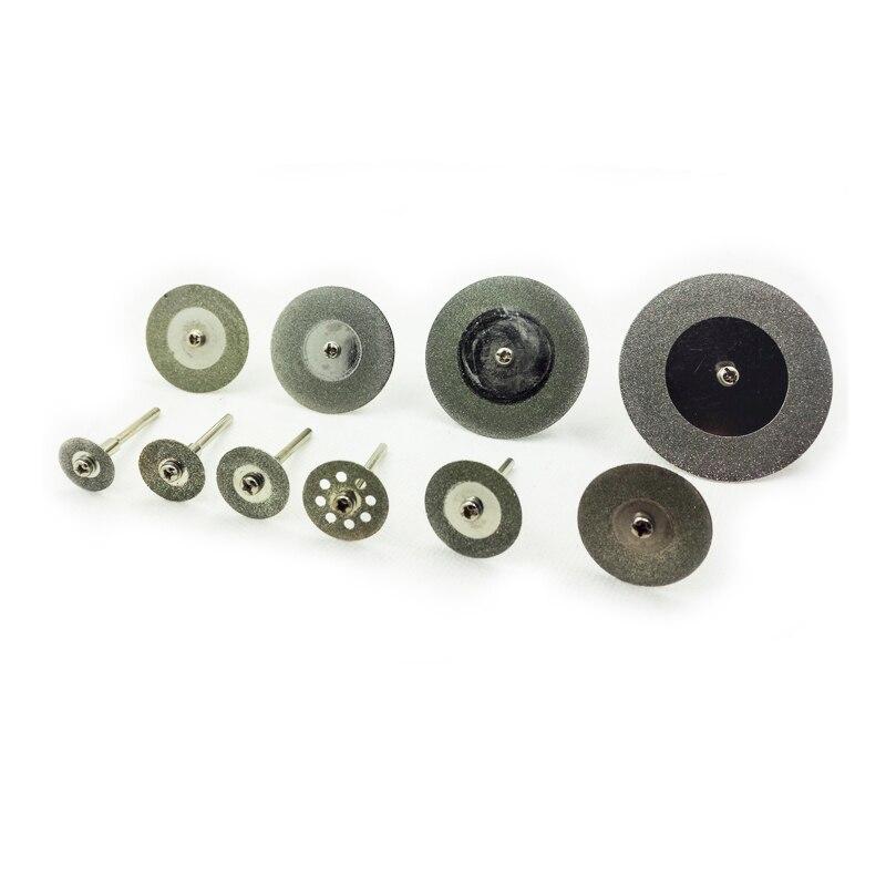 Deimantinio pjovimo diskas su šerde Dremel Rotory Grinder diskiniu pjūklu 16 18 20 22 25 30 35 40 50 60mm