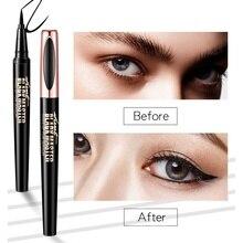 Водостойкий карандаш для глаз, длительный, не головокружительное окрашивание жидкая подводка в ручке