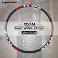 Углеродные колеса ассиметричные mtb xc trail все горные Углеродные Диски доступны для 29er-M-i24A