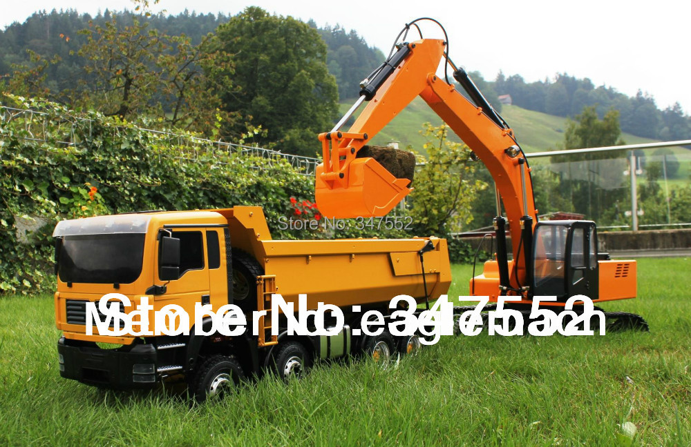 1/12 Scale RC Hydraulic Excavator(1/12 Earth Digger 4200XL Excavator)