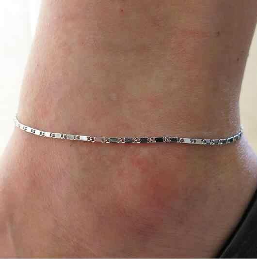 Wysokiej jakości Sexy Anklet bransoletka na kostkę Cheville boso sandały biżuteria na stopy nogi łańcuszek na stopę Pulsera Tobillo dla kobiet prezent