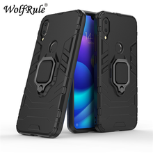 Xiaomi Mi Play Case TPU Hard PC Ring Holder Stand Magnetic Armor For Fundas 5.84