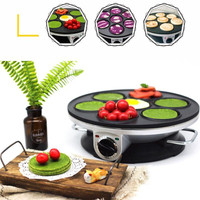 Multifunctional Non stick Plate 220V Electric Pancake Machine Crepe Maker High Quality Breakfast Maker Machine EU/AU/UK