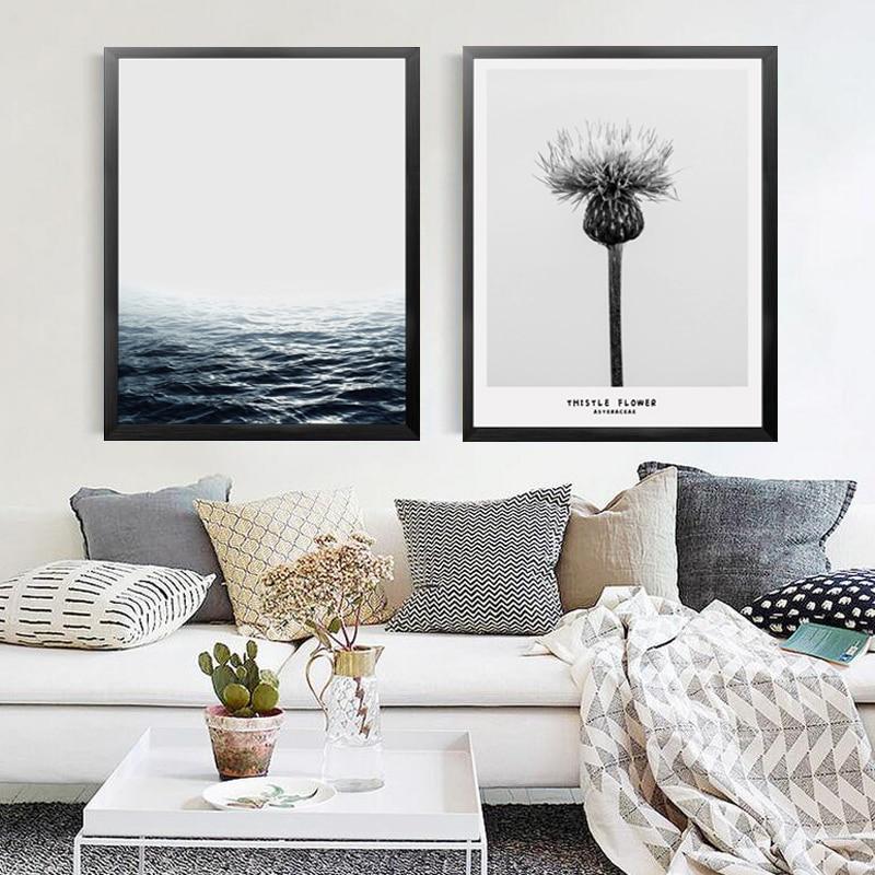 Perfekt Inhalieren Atmen Wand Bild Decor Malerei Leinwand Drucken Poster, Wald Meer  Landschaft Natur Wand Bilder Für Wohnkultur YT0059