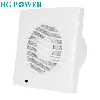 Картинка 4 ''220 V 110 V вентиляции выхлопных газов вытяжек крепление для окна стены Ванная комната туалет кухонный вентилятор вентиляции вентиляционные ...