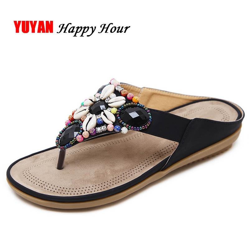 New 2018 Fashion Summer Shoes Women Slippers Flip Flops -7429