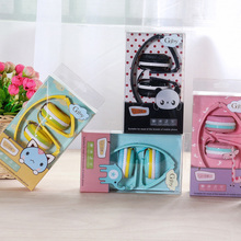Cute Headphones Candy Color Foldable Kids Headset Earphone for Mp3 Smartphone Girl Children Gifts PC Laptop Gaming Headsets