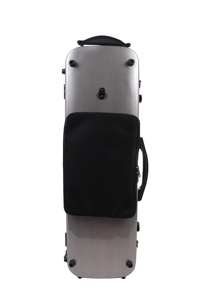 4/4 violin case black color carbon fiber composite material violin case 4/4 White color black violin case 4 4 carbon fiber composite materials high streng