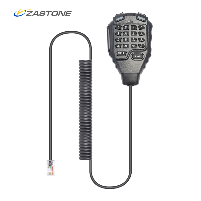 ZASTONE D9000 Handheld Microphone Car Walkie Talkie Accessories For ZASTONE D9000 Two Way Radio Communicator Microphone