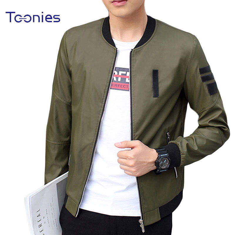 Mens Plus Size 5XL New Men Bomber Jacket Casual Male Coat Slim Fit Jaqueta Masculina Veste
