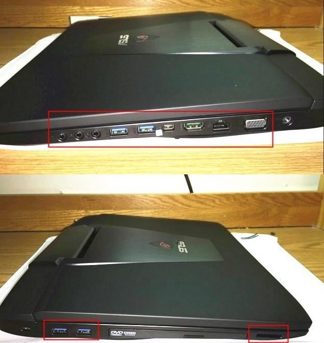 Силиконовая крышка от пыли для разъемов ноутбука ASUS G751 G751JY G751JL G751JT G750 G750JX G750JH G750JW G750JZ G750JS G750JM G75 G75VX G75VW
