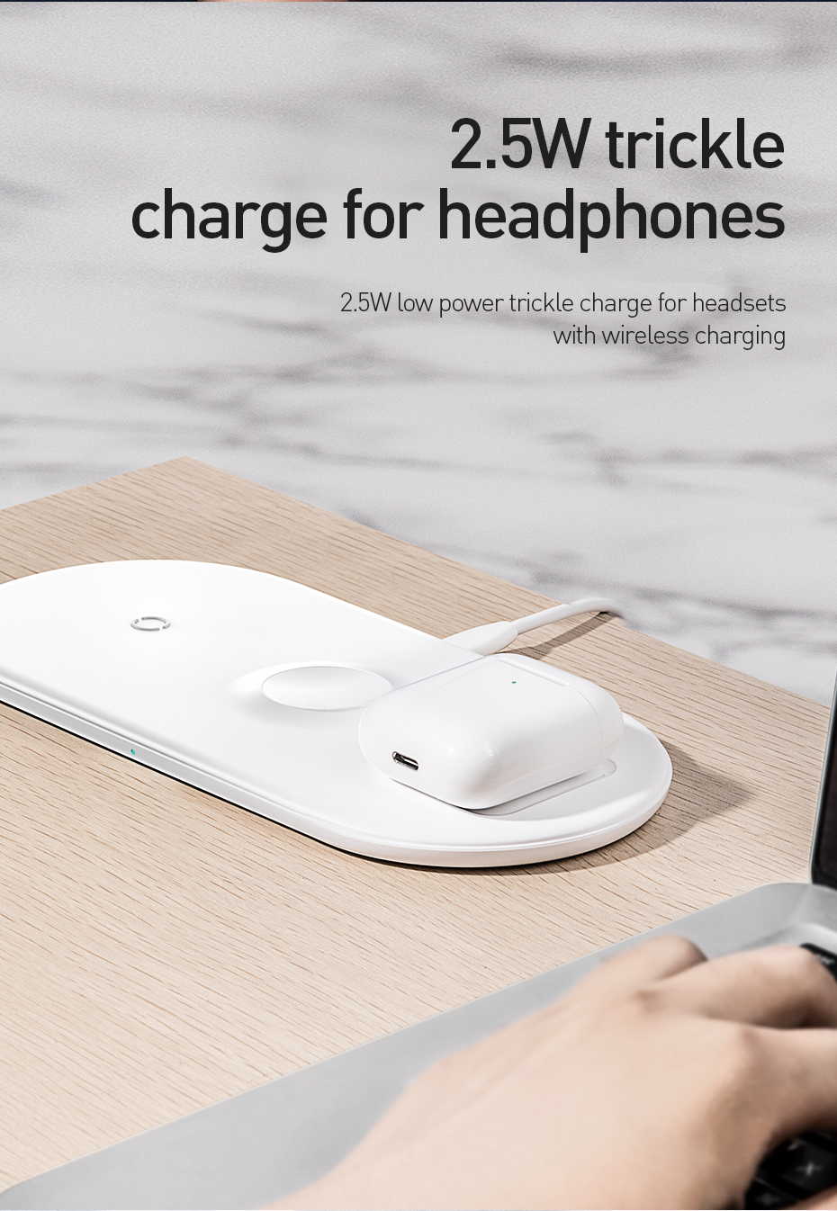 3 in 1 QI Wireless Charging Pad 13