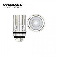 [Official Store] Wismec WS04 MTL 1.3ohm Coil Head compatible with VW/Bypass Mode for Amor NS Pro/Amor NS/Elabo SW/REUX Mini/Amor(China)