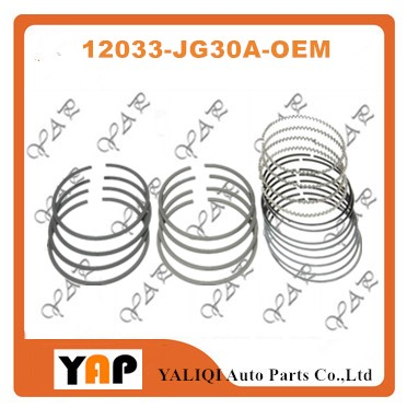 QR25DE QR25 PISTON RING SET PARA FITNISSAN ROGUE X-TRAIL T31 T31P S35 12033-JG30A T31Z 2.5L L4 16 V STD 2007-2014