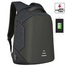 BAIBU Men Backpack Anti Theft 15.6inch Laptop Bag For Men Fashion Oxford Waterproof USB Charging School Travel Bag Backpack Male недорого