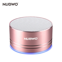 NUBWO Portable Bluetooth Speaker With Mic Speakerphone AUX Line Memory Card Playback Smartphones For Apple Android