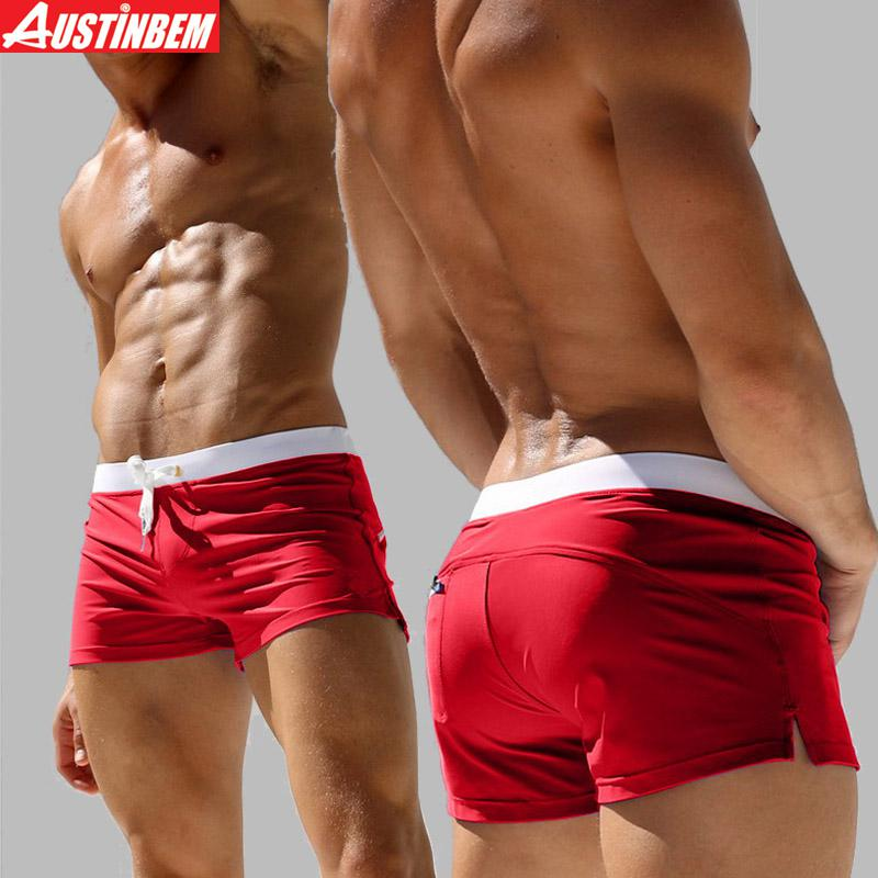 Swim trunks come in an array of colors and prints and include features such as waist drawstrings and pockets. Choose from top swimwear brands like Sporti, Speedo, TYR, Nike, Dolfin, Sauvage, Adidas, Tommy Bahama, and Mr. Swim so you can feel confident no matter what trunks you choose.