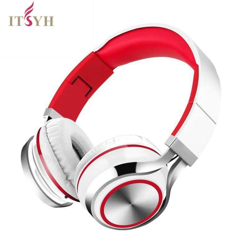 все цены на ITSYH Music headphone with microphone game headphones 1.5mm TPE wired bass headset Stereo earphones foldable portable TW-811 онлайн