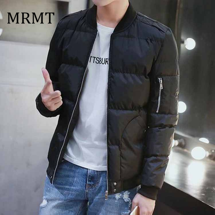 men's winter jacket of new fund of 2018 autumn winters down cotton-padded jacket tide male han edition favors more warm coat