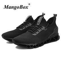Vendita calda Mens Scarpe Da Ginnastica Nero Bianco Uomo Runningg Scarpe di  Autunno della Molla scarpe d544b1700a6