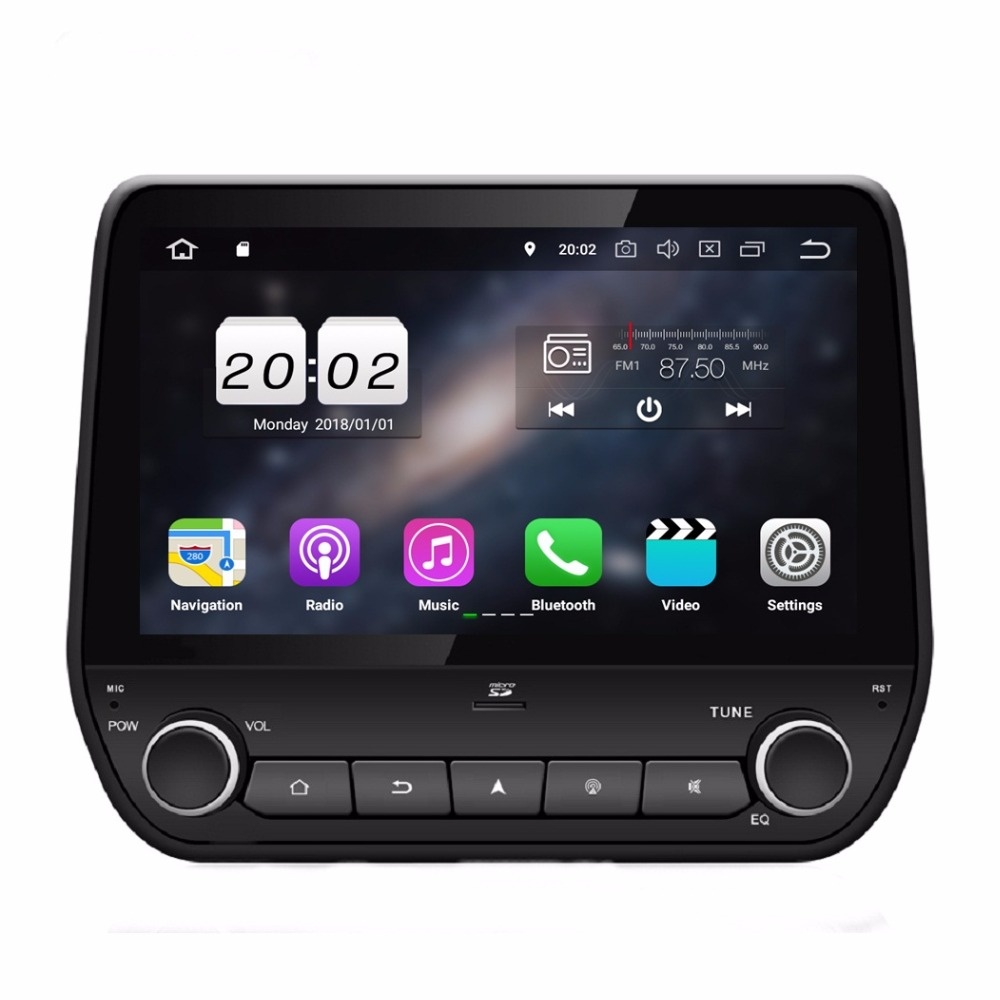 "1024*600 9"" Quad Core Android 8.1 Car Audio DVD Player for Ford Eco sport Fiesta 2017 2018 Radio GPS WIFI Bluetooth Mirror link"