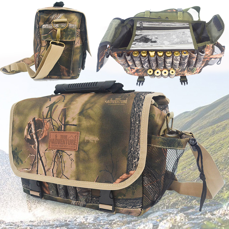 Outdoor Tactical Molle Pouch Bag Military Camo Rucksack pochette molle Hunting Hiking Shoulder Bag Utility Tool Bag