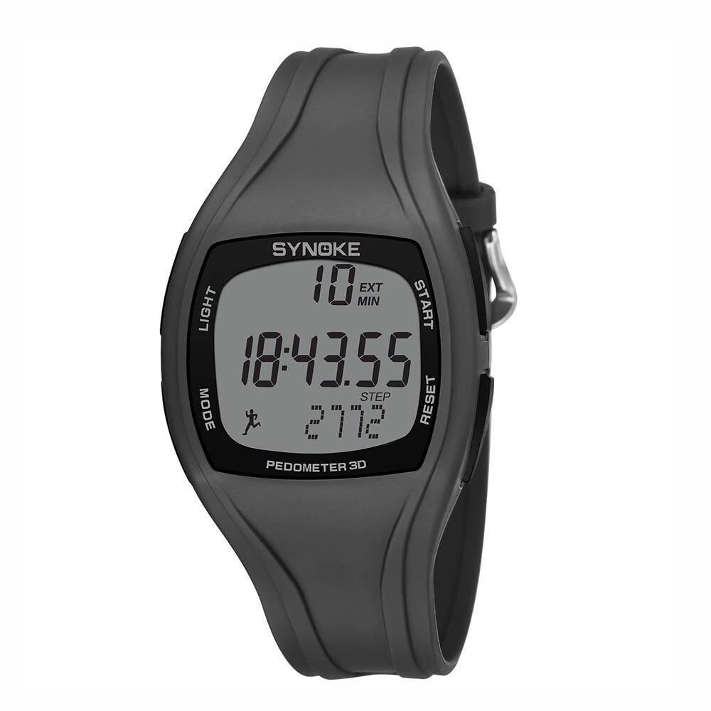 SYNOKE3D Männer Uhr Sport Synoke Calorie Pedometer Chronograph Outdoor Uhren 50 m Wasserdicht Männer Uhr Uhren zegarek meski