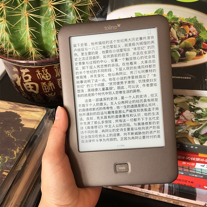 Lecteur de livre électronique d'écran tactile de 6 pouces WiFi ebook Tolino Shine e-ink 1024x758 lecteur de livre électronique livraison gratuite